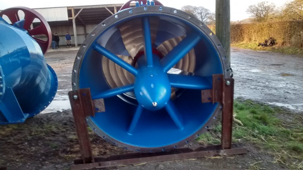 Axial turbine